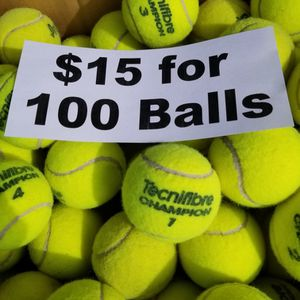 100 Used Tennis Balls Firm Price for Sale in Fort Lauderdale, FL