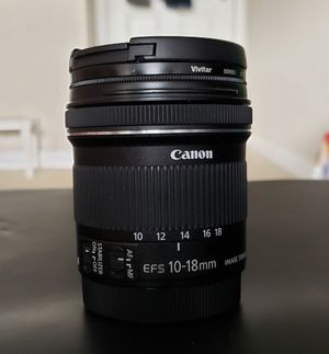 Canon 10-18mm STM lens for Sale in Bellevue, WA
