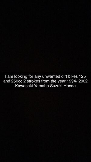 Dirt bikes wanted ( Please read ) for Sale in Woodbridge, VA