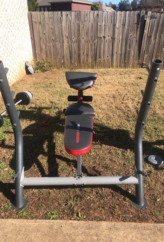 Full weight bench