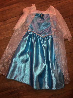 Elsa costume dress 4-6 for Sale in Tustin, CA