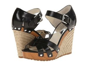 Michael Kors Jet Set 6 Black Wedges Size 6.5 for Sale in Centreville, VA