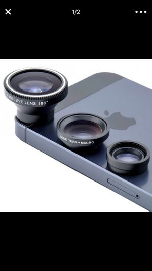 4 Piece Set: Universal Smartphone Camera Lens Kit for Sale in Brooklyn, NY