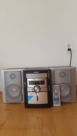 SHARP 170w Sound System & Speakers for Sale in Bethesda, MD