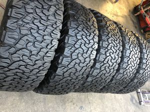 5 tires 315/70R17 BFGoodRich ko2 all-terrain (5 for $700) for Sale in Pomona, CA