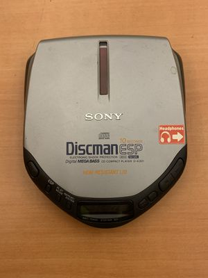 Sony D-E301 Discman Mega Bass Portable CD Player for Sale in Pelham, NH