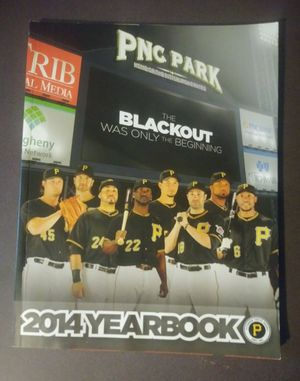 2014 Pittsburgh Pirates Yearbook Year Book Baseball Blackout PNC Park Collectible for Sale in Salem, OH