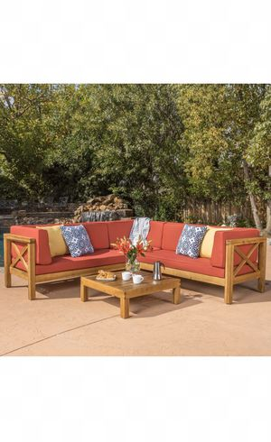 Outdoor furniture, outdoor sectional, patio sectional, outdoor patio furniture, $1,100 retail! for Sale in Maricopa, AZ