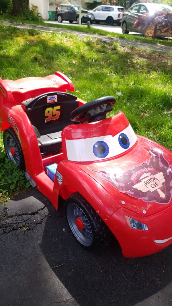 Power wheels Lighting McQueen car