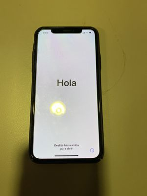 iPhone X 256gb Black for Sale in Mesa, AZ