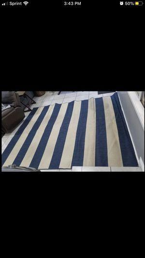 Blue Striped Rug for Sale in Montebello, CA