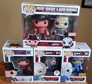 Freddy Krueger & Jason Vorhees Funko Pop Lot for Sale in Arlington, WA
