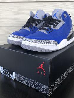 """Air Jordan 3 """"Varsity Royal"""" for Sale in Marietta,  GA"""