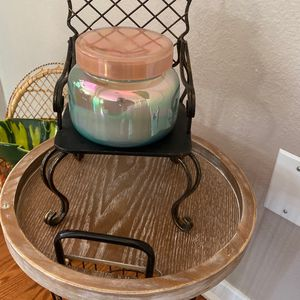 Metal Plant/candle Holder Chair 10 In Ht 6 In Width for Sale in Lynwood, CA