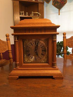Antique Oak Elgin Westminster Chime Mantle Clock for Sale in Boiling Springs, SC