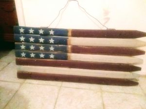 Primitive Americana flag for Sale in Saint Joseph, MO