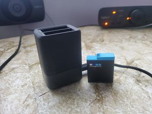 Gopro dual battery charger and battery for Sale in El Monte, CA