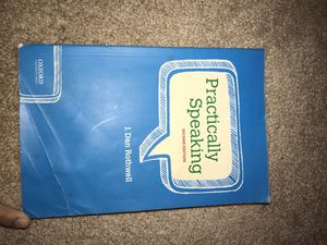 Practically Speaking Textbook for Sale in Massillon, OH