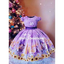 💜💛Princess Rapunzel Dress💜💛 Size 2/3T for Sale in Anaheim,  CA