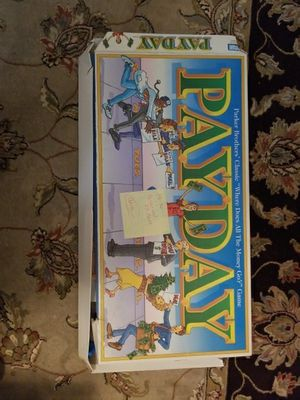 Pay Day Board Game 2000 version for Sale in Montgomery Village, MD