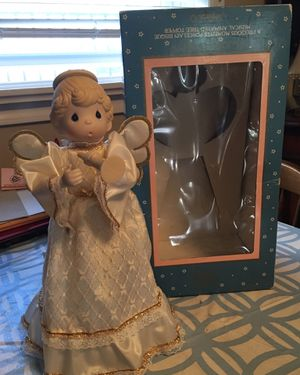 Precious Moment musical tree topper for Sale in Lawrence, NY