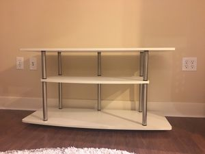 Tv Console Table White for Sale in Portland, OR
