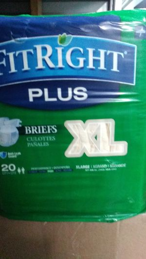 XL Briefs Adult Diapers for Sale in Lakewood, CA