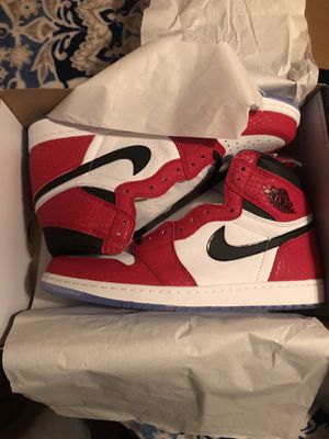 "Nike Air Jordan 1 ""Into The Spider-Verse"" edition Size 13 mens for Sale in Tuscaloosa, AL"