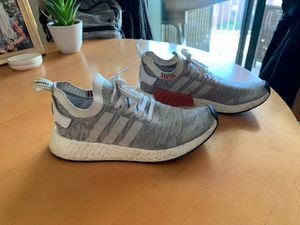 Adidas NMD Grey/Red, Men's Size 10 for Sale in Dallas, TX