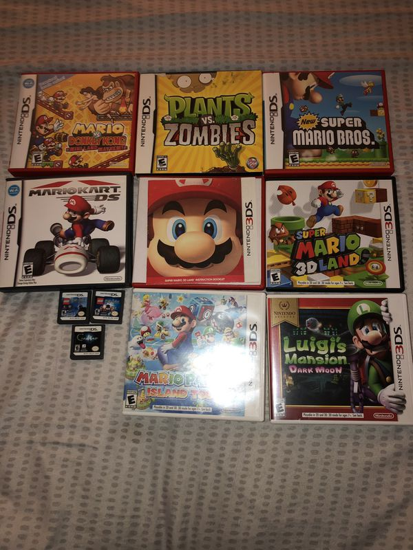 NEW Nintendo 3DS w/ 3DS and 2DS games