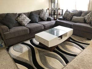 Large sofa, loveseat, and coffee table PRICING IS NEGOTIABLE for Sale in Falls Church, VA