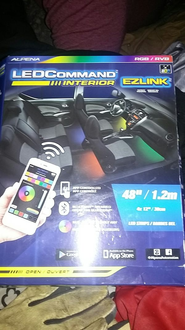 Led command interior ez link lights for car