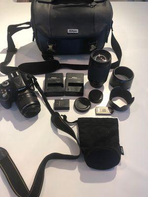 Nikon D5200 Bundle for Sale in Atlanta, GA