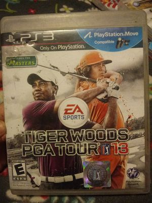 Tiger woods ps3 game for Sale in Nipomo, CA