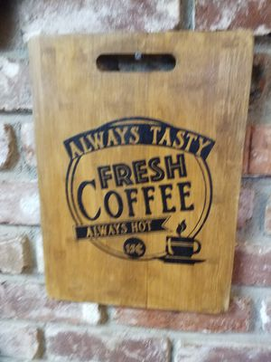 Fresh coffee sign for Sale in Medford, OR