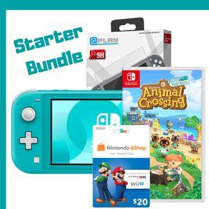NEW Nintendo SWITCH-lite bundle Console\Animal Crossing\Screen Guard\$20 Ecard for Sale in Salt Lake City, UT