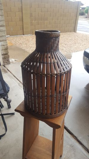 Bamboo vase. Artificial plant stand for Sale in Glendale, AZ