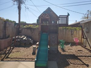 Swing set/play set for Sale in Albuquerque, NM