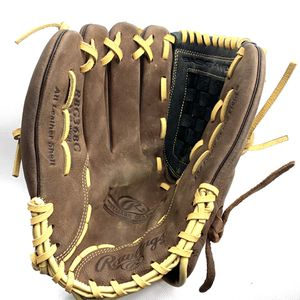 Rawlings baseball left handed glove mitt 12 1/2 brown leather EUC NWOT for Sale in Summersville, WV