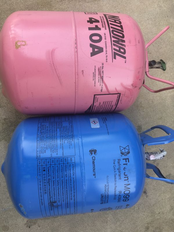 M099 and R410 Freon