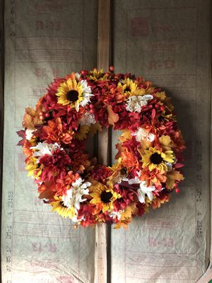 Fall Wreath for Sale in Spencer, WV