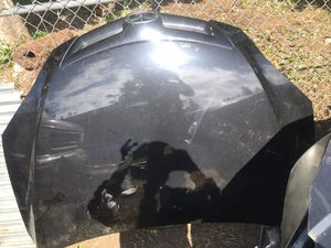 Mazda 3 hood black excellent condition 2004 to 2009i have more parts radiator and radiator soport for Sale in Seattle, WA