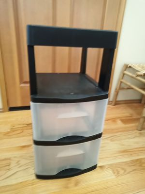 ***Price Reduced*** 2 Drawer Plastic Storage Container for Sale in Puyallup, WA