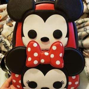 Disney Funko Minnie & Mickey Loungefly Backpack for Sale in Fresno, CA