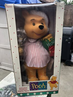 Telco Winnie the Pooh 22 inch Christmas display for Sale in Lakewood, CA