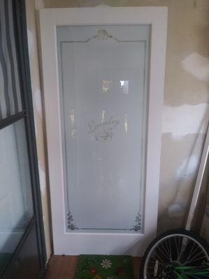French Door for laundry for Sale in Riverdale, MD