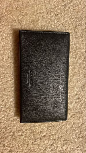 Black Copper Coach Card Wallet for Sale in Cleveland, OH
