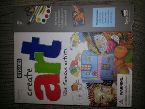 NEW kids create ART set for Sale in Glen Burnie, MD