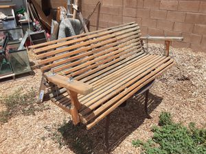 Wood porch swing for Sale in Mesa, AZ
