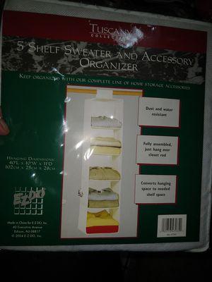 Tuscany 5 shelf sweater organizer for Sale in Garland, TX